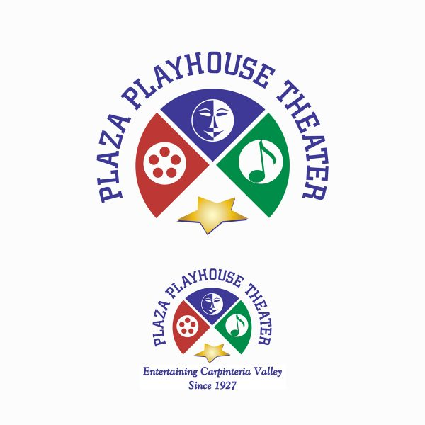 Plaza Playhouse Theater logo submission