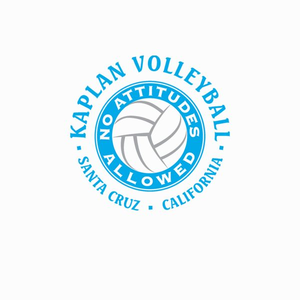 Kaplan Volleyball logo