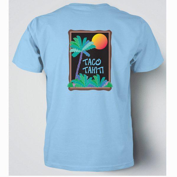 Taco Tahiti t-shirt design