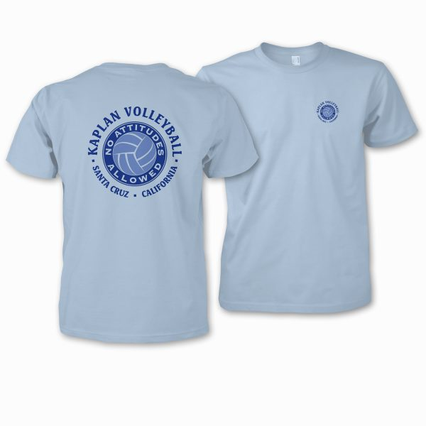 Kapalan Volleyball logo on t-shirts