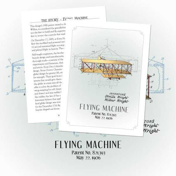 PatentWear's Flying Machine Story Tags