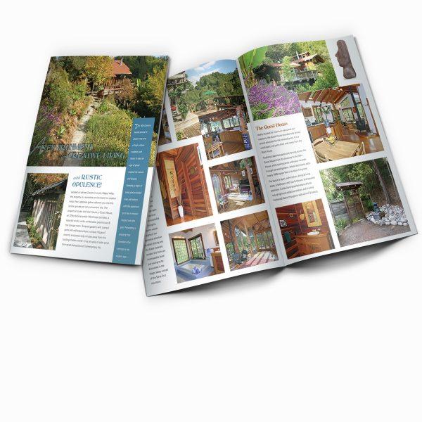 Linda Burroughs Real Estate promotional brochure