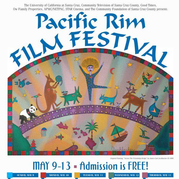 Pacific Rim Film Festival poster close-up