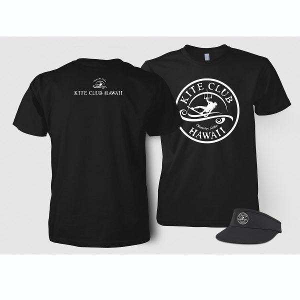 Kite Club Hawaii t-shirts and visor