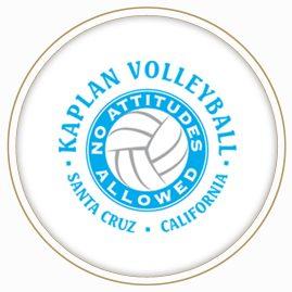 Kaplan Volleyball logo featured