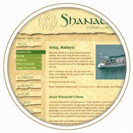 Shanachie Hand Coded Website featured