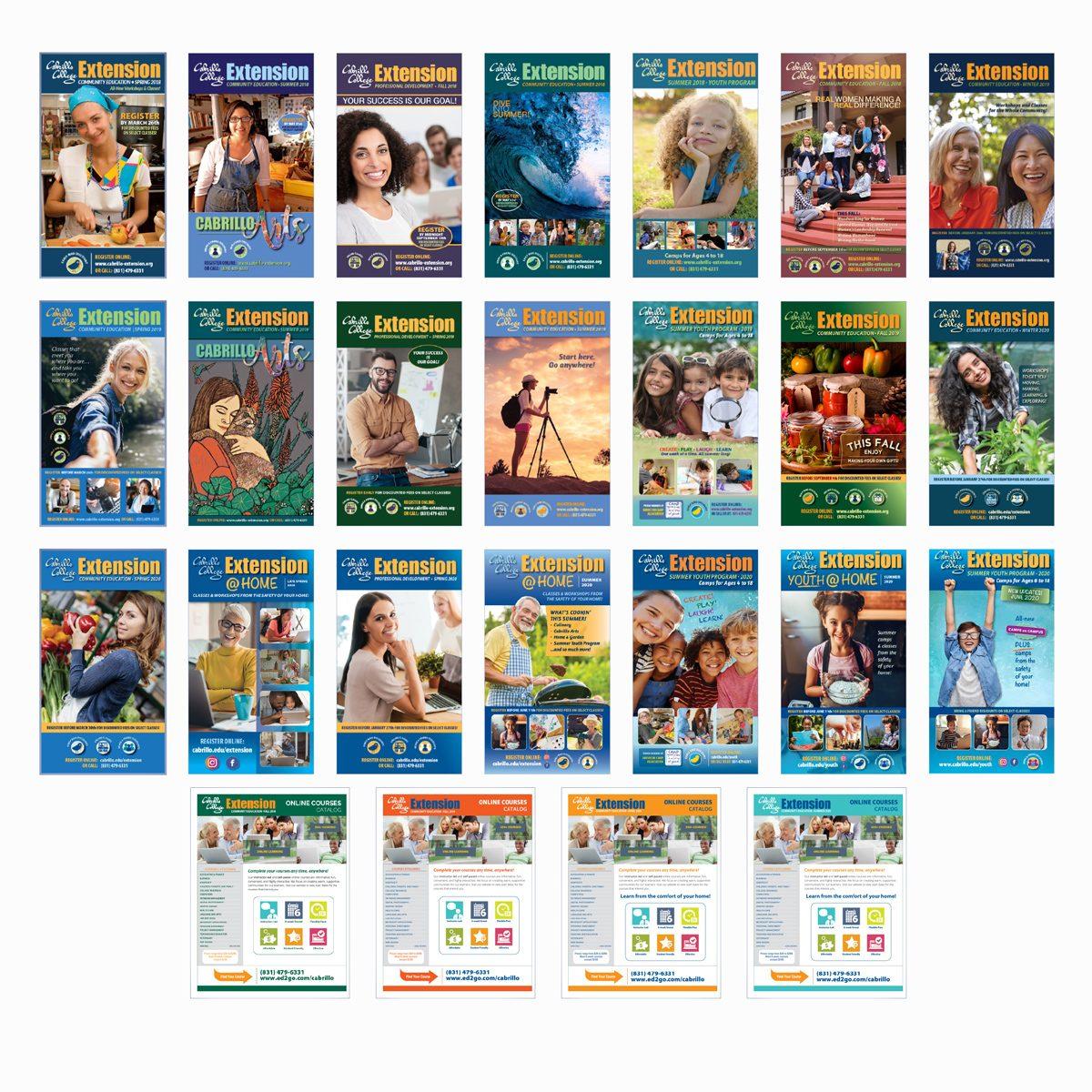 Cabrillo Extension catalogs produced 2018–2019