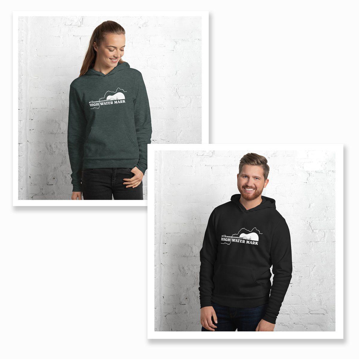 High Water Mark band hoodies